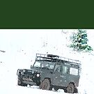 Landrover Christmas  by bywhacky
