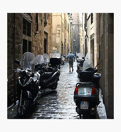 Subito! - Florence, Italy Photographic Print