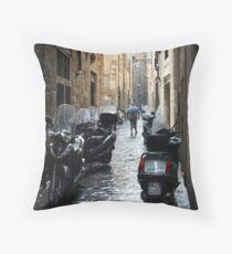 Subito! - Florence, Italy Throw Pillow