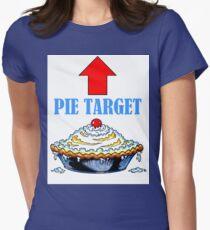 PIE TARGET shirt Women's Fitted T-Shirt