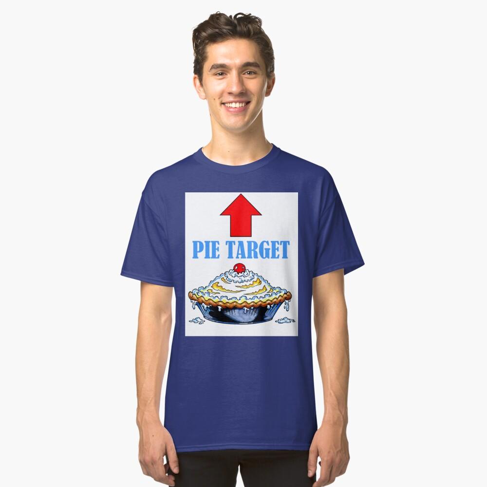 TARJETA PIE TARGET Camiseta clásica