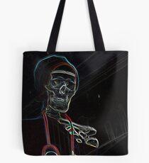 Radioactive Skeleton Tote Bag
