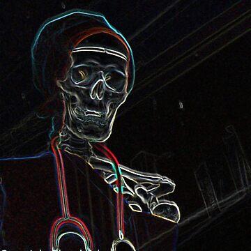 Radioactive Skeleton by bywhacky