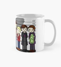 SuperWhoLock Lineup Mug