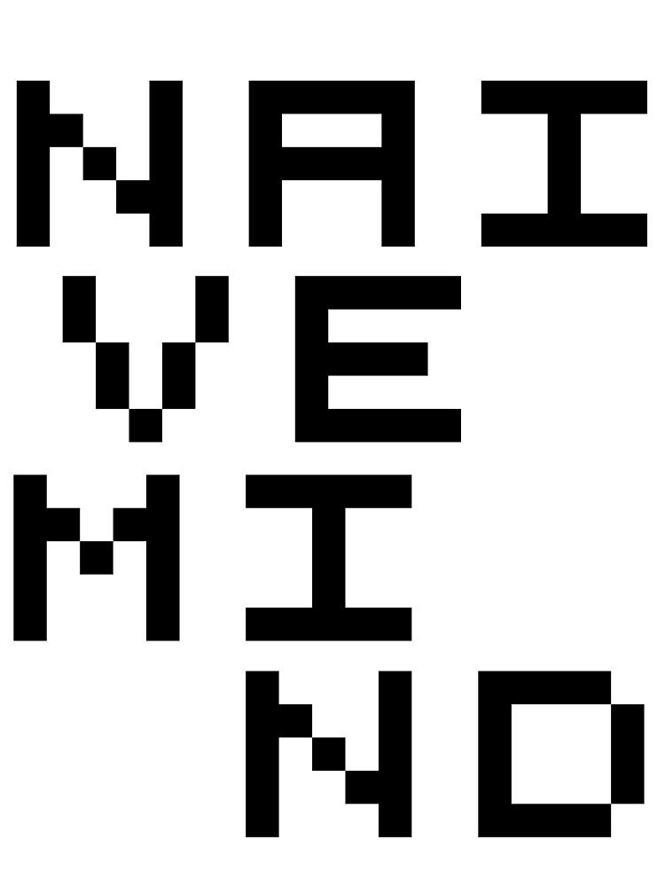 Pixels T-shirt by NaiveMind