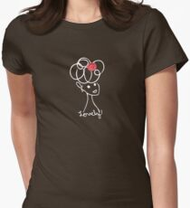 Lovely (T-shirt) Womens Fitted T-Shirt