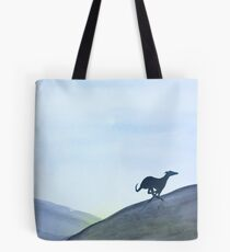 Running Greyhound Whippet Lurcher Tote Bag