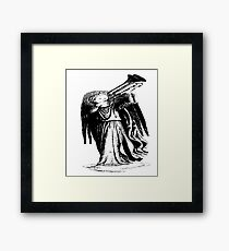 Angel with Trombone? Framed Print