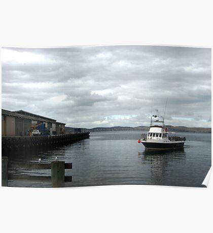 Hobart Wharf Poster
