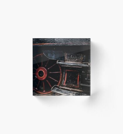 Steam Wheels  Acrylic Block