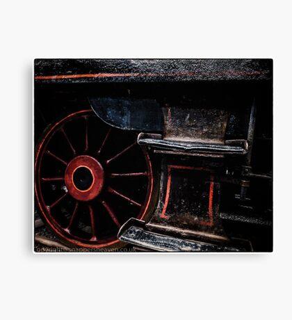 Steam Wheels  Canvas Print