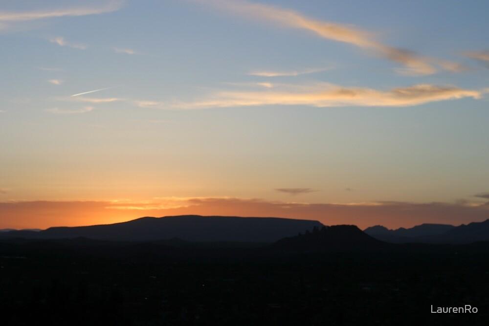 Arizona Sunset by LaurenRo