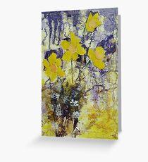 Daffodil time Greeting Card