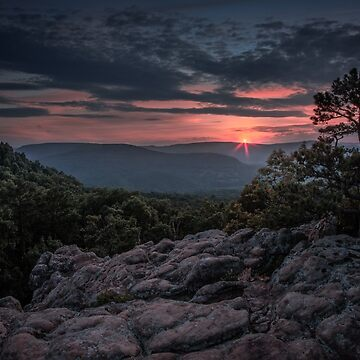 Sam's Throne in the Ozark Mountains, Arkansas. by mattmacpherson