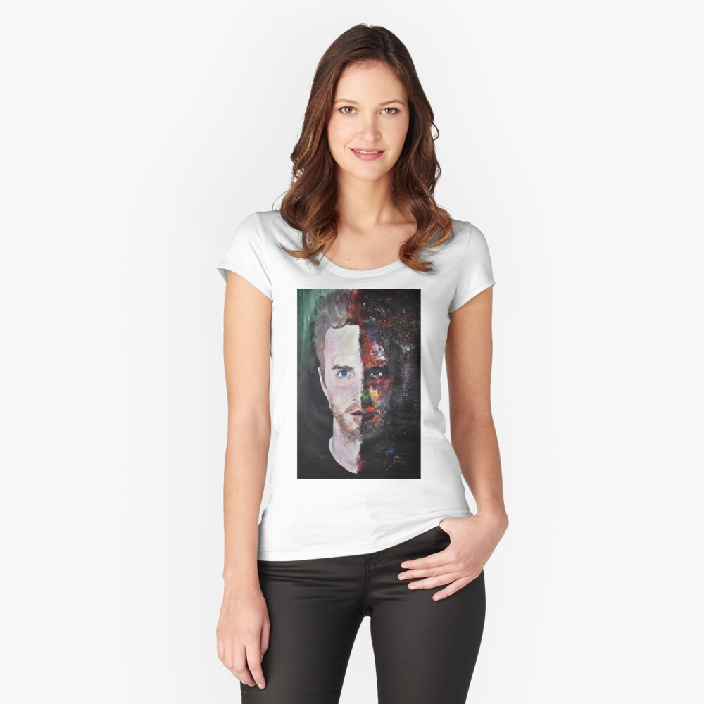 Pinkman Women's Fitted Scoop T-Shirt Front