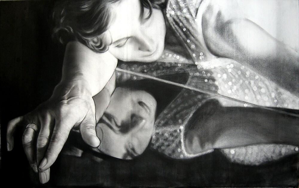 Step 4...Glazing and adding the darks by Warren Haney
