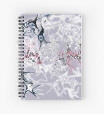 Brain on Surrealism - version for dark color fabrics Spiral Notebook
