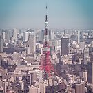 Tokyo Tower Day by Guillaume Marcotte
