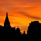 London at Sunset 1  by bywhacky