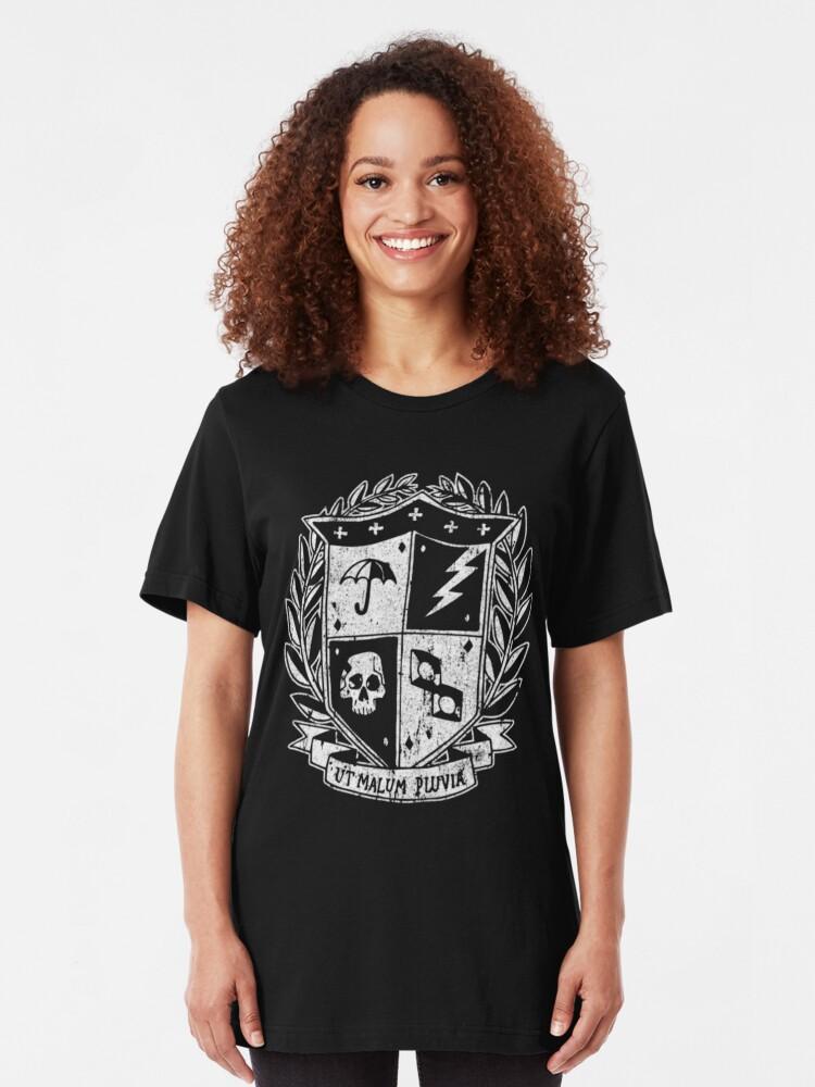 Alternate view of Umbrella Academy Slim Fit T-Shirt