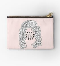 What Would Dolly Do? Zipper Pouch