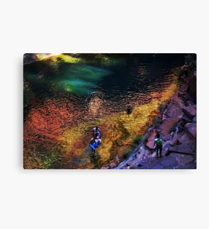Karajini Colours Canvas Print