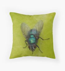 Petrol Green Throw Pillow
