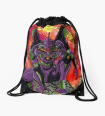 Cruel Angel Drawstring Bag