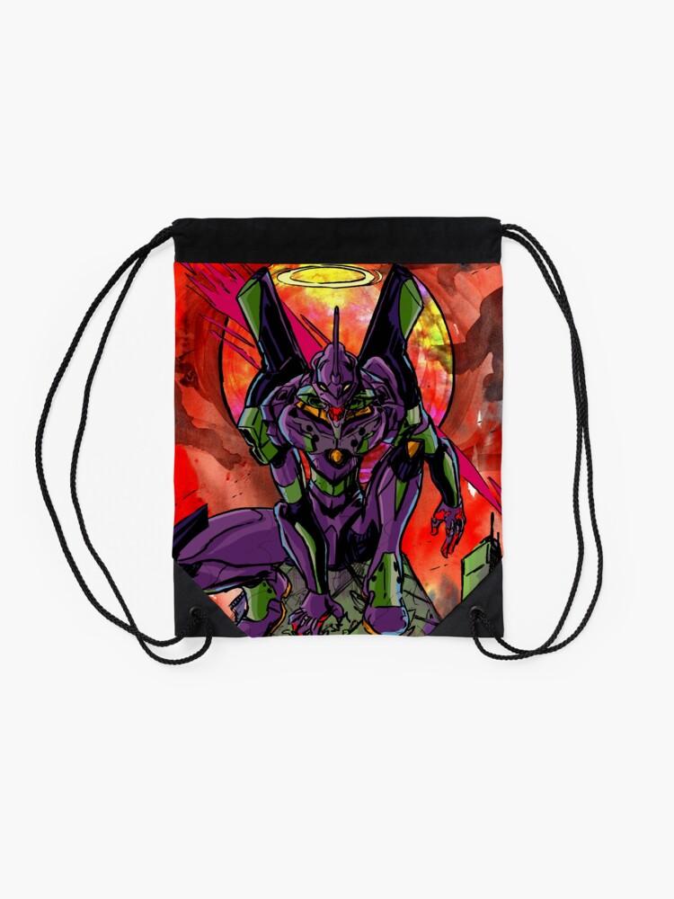 Alternate view of Cruel Angel Drawstring Bag