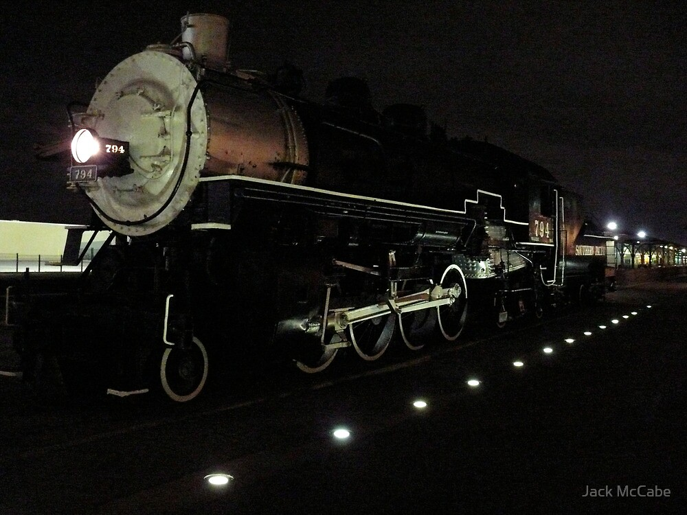 Old Steam Engine Number 794 - San Antonio - Texas © 2010 *featured by Jack McCabe