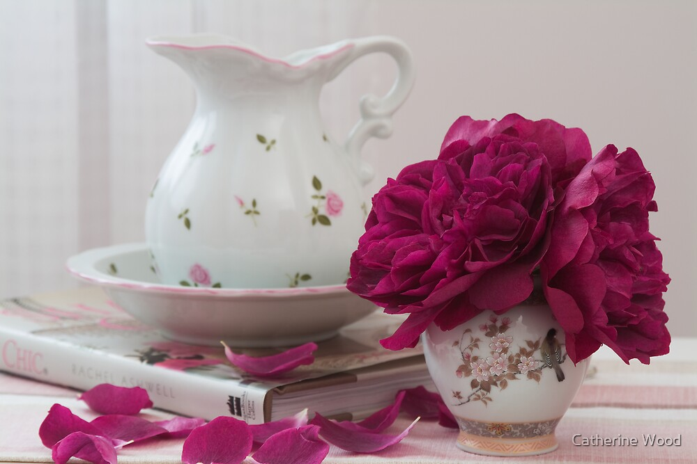 Still LIfe with Rosa Darcey Bussell by Catherine Wood