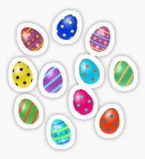 Easter Eggs Pattern  Sticker