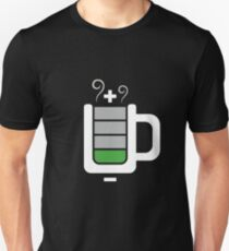 Cup battery charging Unisex T-Shirt