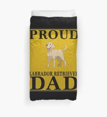 Funda nórdica  Proud Labrador Retriever Dad - Gift For Owner Of A Labrador Retriever,dad,father,papa,daddy,