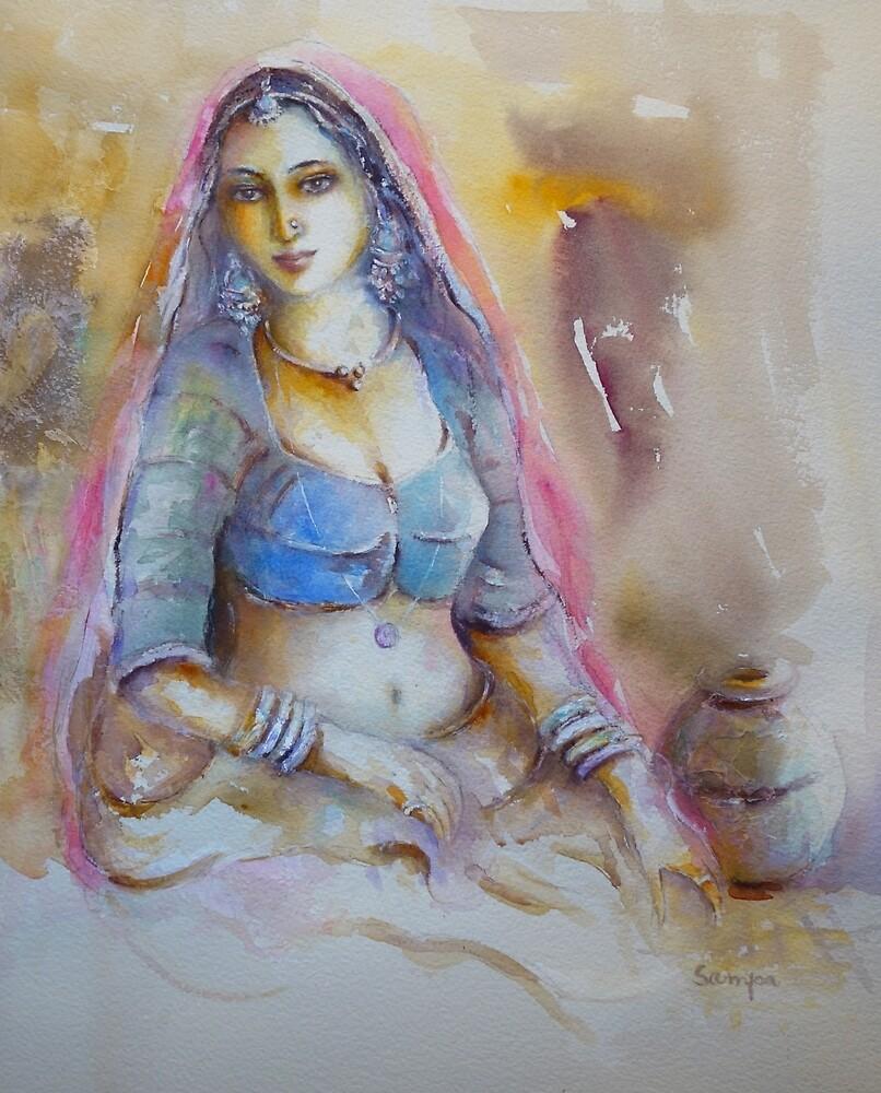 Exotic Woman by Sampa Bhakta