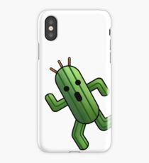 pocket cactuar final fantasy iPhone Case