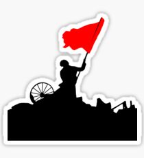 Flag of Revolution Sticker
