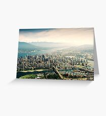 Vancouver (Aerial View) Greeting Card