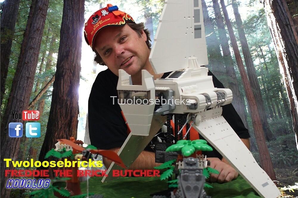 Freddie The Brick Butcher by Twoloosebricks