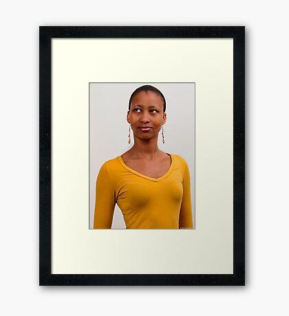 Neo Portrait 3 Framed Print