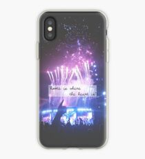 """home is where the heart is"" iPhone Case"