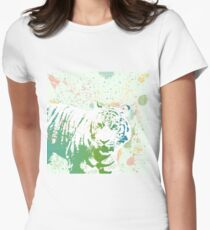 Am I that Tigers Lunch? Fitted T-Shirt