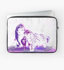 Affectionate Snow Leopards Laptop Sleeve