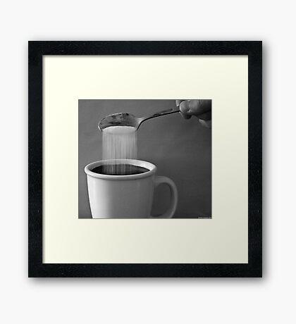 Sugar Rain Framed Print