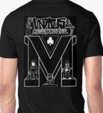 Vandalous Collage in Black Unisex T-Shirt