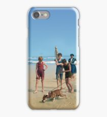 Bulldog at the Beach iPhone Case/Skin