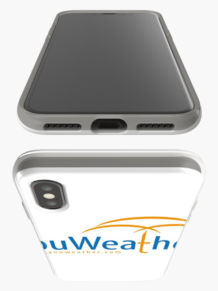 Alternate view of YouWeather meteorology iPhone Case & Cover