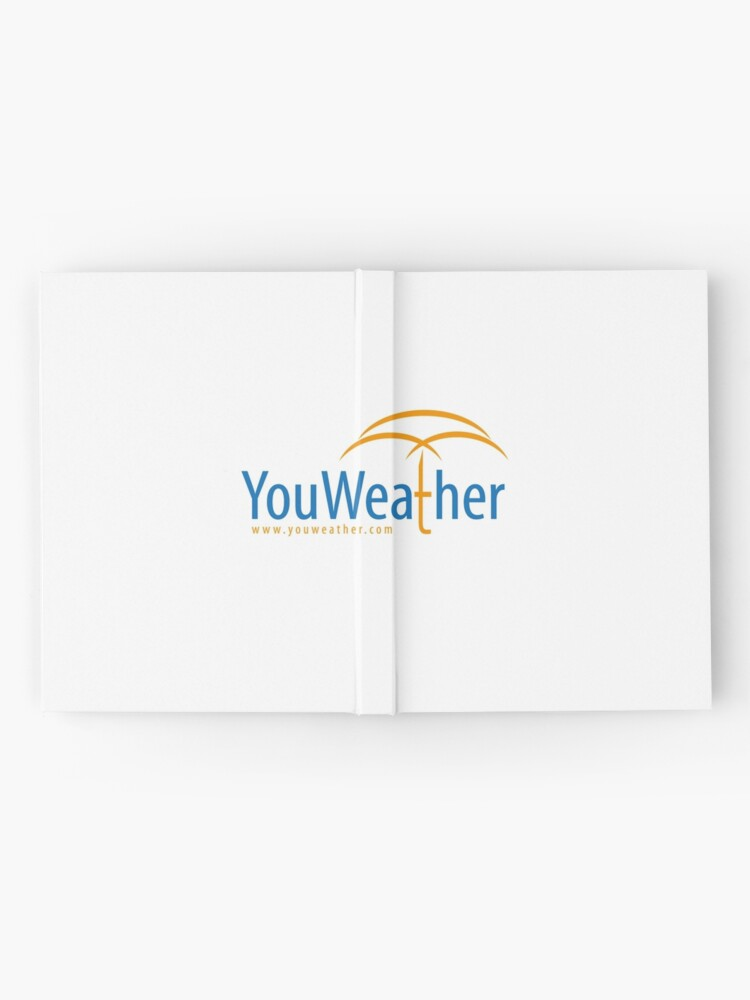 Alternate view of YouWeather meteorology Hardcover Journal