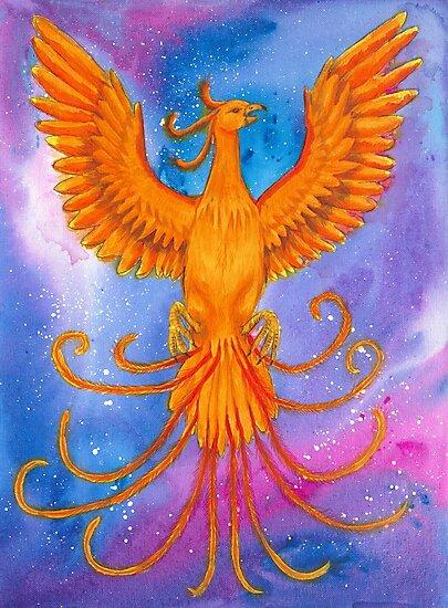 Phoenix  by Emma-Jayne Easton