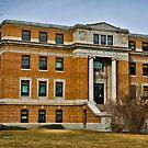 Stillwater County, Montana, Court House by Bryan D. Spellman
